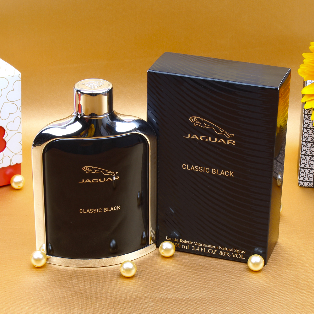 valentinegiftidea jaguar classic black perfume for him. Black Bedroom Furniture Sets. Home Design Ideas