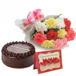 Valentine Chocolate Cakes