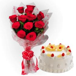 Valentine Fresh Cream Cakes