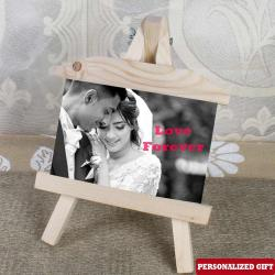Personalized photo Wooden Easels Frame