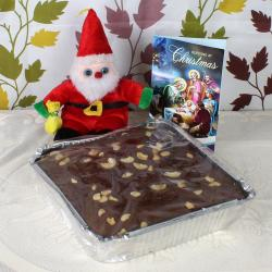 Plum Cake and Santa with Card