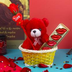 Small Basket of Love Goodies