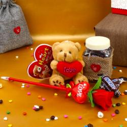 Valentine Soft Toys To Chandigarh