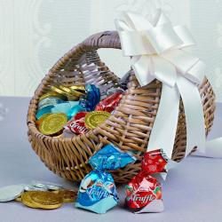 Treat of Chocolates Basket Online for Mahe