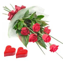 Rose Day Gifts To Hyderabad