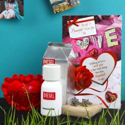 Valentine Gift Combo for Him for Nadia