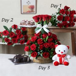 Valentine Gifts Combo For Three Days