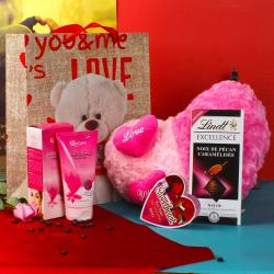 Valentine Special Love Gifts For Her with Bio Care Face Wash for Her