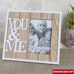 YOU and ME Personalized Photo Frame for Kanchipuram