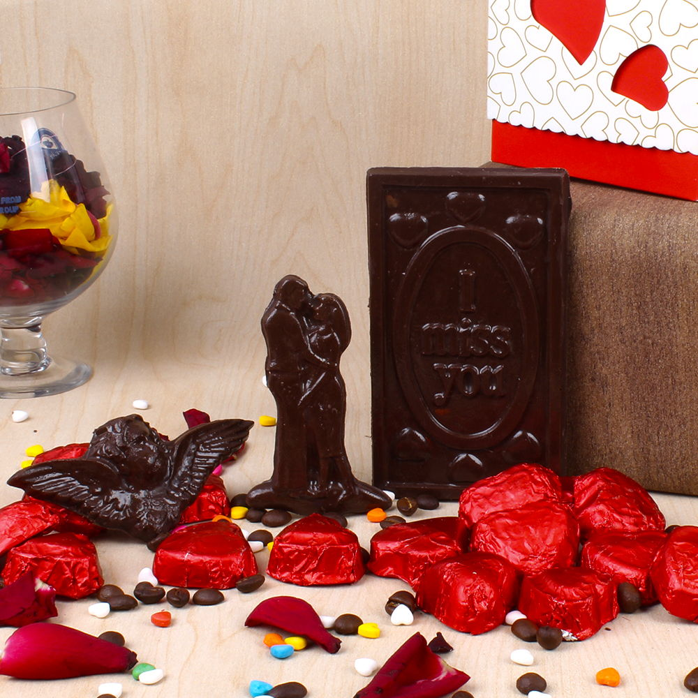 Valentines Day Special Home Made Chocolate Box